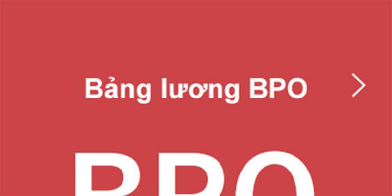 Bảng lương BPO